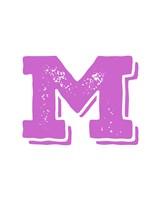 M in Pink by Veruca Salt - various sizes