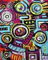 Boom Box Fiesta Fine Art Print