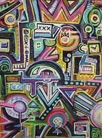 Humpty Dumpty Loves Spelunking Fine Art Print