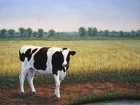 Happy Holstein Fine Art Print