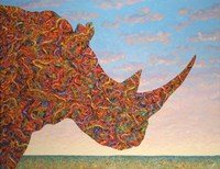 Rhino-Shape Fine Art Print