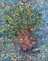 Falling Flowers Fine Art Print