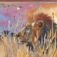 Chobe Park Lion by Bob Coonts - various sizes