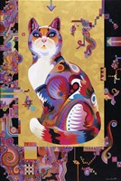 Pythagoras' Cat Fine Art Print