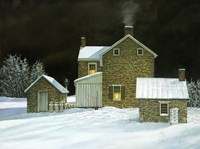 Door Yard Snow by Jerry Cable - various sizes
