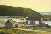 Monhegan Wharf by Jerry Cable - various sizes