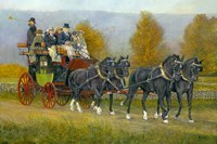 Morning Drive by Jerry Cable - various sizes, FulcrumGallery.com brand