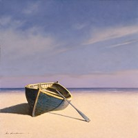 Beached Boat 1 Fine Art Print