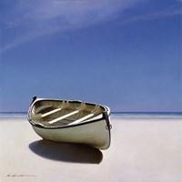 Beached Boat Fine Art Print