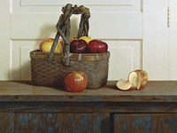 Still Life With Apples Fine Art Print