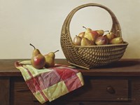 Still Life With Pears Fine Art Print