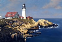 Coastal Lighthouse Fine Art Print