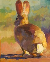 Backdoor Bunny Fine Art Print