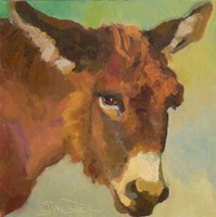 Bored Burro Fine Art Print