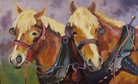 Two Hearts one Hitch by Sarah Webber - various sizes, FulcrumGallery.com brand