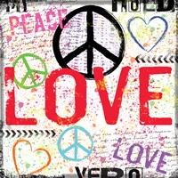 Love and Peace 1 Fine Art Print