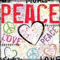 Love and Peace 2 Fine Art Print