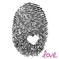 Love Thumbprint by Louise Carey - various sizes