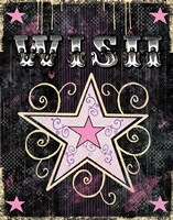 Star - Wish Framed Print