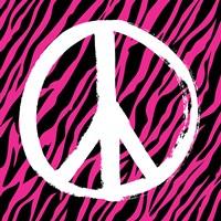 Zebra Peace Framed Print