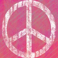 Pink Peace by Louise Carey - various sizes - $16.99