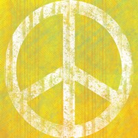 Yellow Peace by Louise Carey - various sizes
