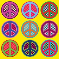 Nine Patch Peace by Louise Carey - various sizes