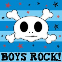 Boys Rock by Louise Carey - various sizes, FulcrumGallery.com brand