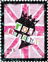 Rock Royalty Framed Print