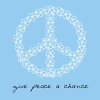 Give Peace A Chance - Flowers by Louise Carey - various sizes, FulcrumGallery.com brand