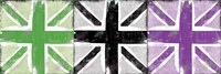 Union Jack Three Square II by Louise Carey - various sizes - $29.99