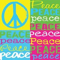 Peace Squares Fine Art Print