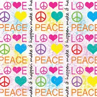 Peace Love 1 by Louise Carey - various sizes