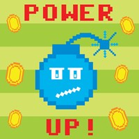 Power Up 2 Fine Art Print