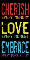 Cherish Love Embrace 2 Framed Print