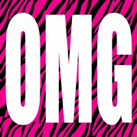 OMG Zebra by Louise Carey - various sizes