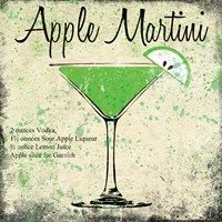 Apple Martini Fine Art Print