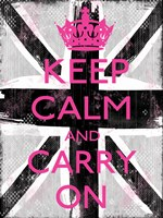 Keep Calm And Carry On 3 by Louise Carey - various sizes
