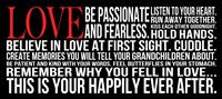 Be Passionate 2 Framed Print