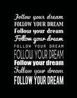 Follow Your Dream 2 by Louise Carey - various sizes