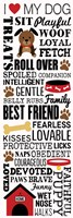 I Love My Dog 1 by Louise Carey - various sizes