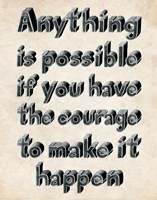 Anything is Possible by Louise Carey - various sizes