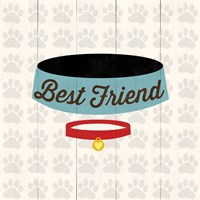 Best Friend - Bowl Framed Print