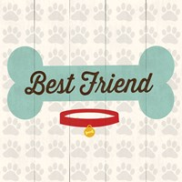 Best Friend - Bone by Louise Carey - various sizes, FulcrumGallery.com brand