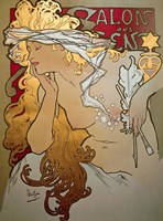 Salon des Cents by Alphonse Mucha - various sizes