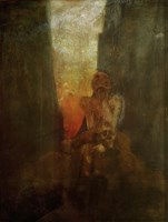 The Abyss 1898-1899 by Alphonse Mucha - various sizes