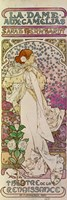 La Dame aux Camelias, Sarah Bernhardt, Paris 1894 by Alphonse Mucha, 1894 - various sizes