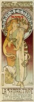 La Samaritaine, Paris 1894 by Alphonse Mucha, 1894 - various sizes