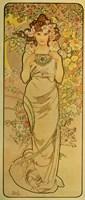 The Emerald by Alphonse Mucha - various sizes
