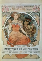 Universal and International Exhibition in St Louis, 1904 by Alphonse Mucha, 1904 - various sizes - $25.49